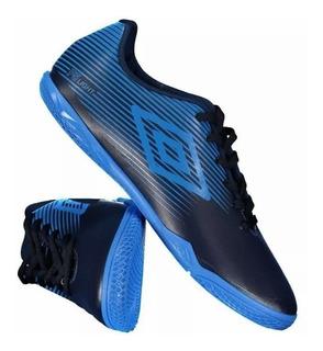 Tenis Umbro Futsal Masculino Indoor F5 Light Azul/azulmar
