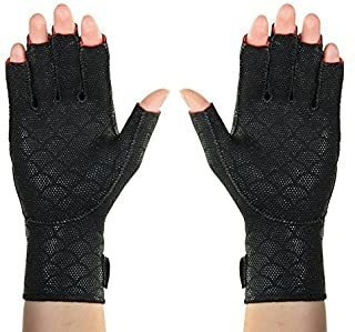 Guantes Artríticos Premium Thermoskin, Negro, X-large