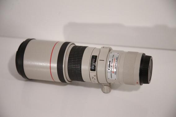 Lente Canon 400mm F/5.6 L Usm Impecável
