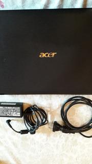 Notebook Acer, W10 Original, Como Nueva. Zona V. Ballester