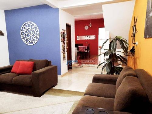 Sobrado Com 4 Dormitórios À Venda, 225 M² Por R$ 550.000,00 - Itaquera - São Paulo/sp - So1538