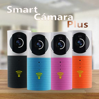Smart Cámara Plus Hd - Vista Nocturna - Angulo De 120°