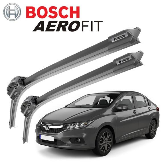Palheta Limpador Parabrisa Bosch Aerofit Honda City 2015