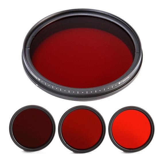 Filtro Fotga Infravermelho Ajustável 530nm À 750nm ( 67mm )