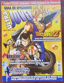 Revista Ultrajovem Guia De Episódios Nº 01 Dbz Berserk