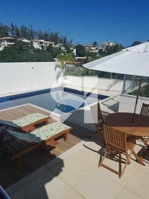 Maravilhosa Casa Cinco Suítes - Condomínio Parque Costa Verde - Pituaçu. - Fs0154