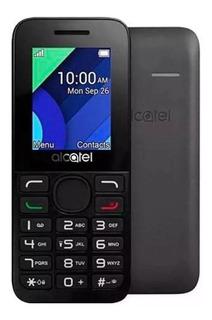 Celular Para Idoso Alcatel 1054d 1.8 Dual Chip Preto