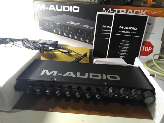 Interface De Audio 8 Canais M-track Eight M-audio