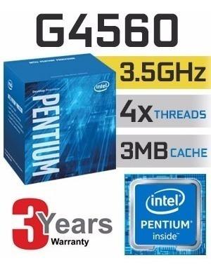 G4560, Melho Que I3 6100, Quad Core Com Cooler