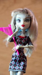 Monster High Geek Shriek Muñeca De Frankie Stein