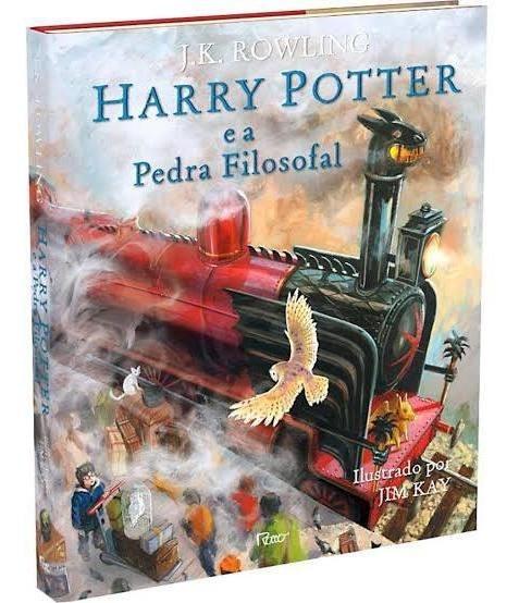 Livro Harry Potter E A Pedra Filosofal - Edição Ilustrada
