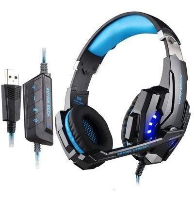 Diadema Gamer G9000 Sonido Envolvente Microfono Ps4