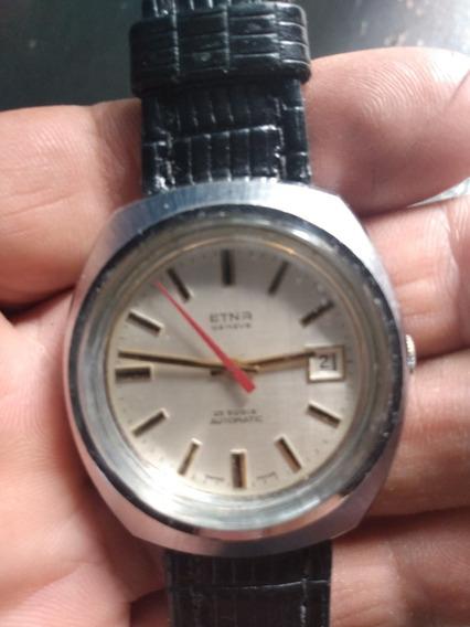 Vendo Lindo Relógio Etna Automático 25 Rubins Raro
