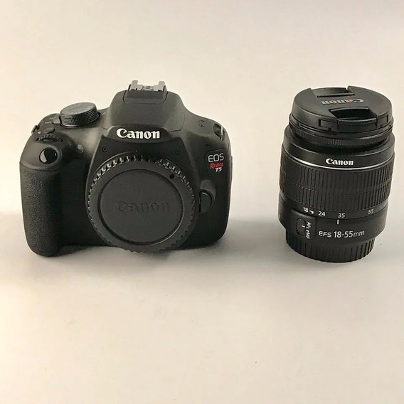 Camera Canon Eos Rebel T5 + 18-55mm