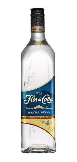 Ron Flor De Caña Blanco Extra Dry 4 Años Bot 750 Ml