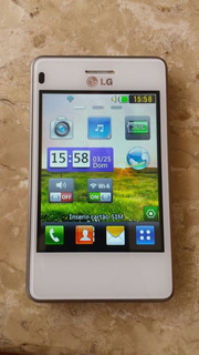 Celular Lg T375 Branco Desbloqueado Funcionando 100%