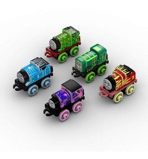 Tren Thomas & Friends Minis Fisher - Price Pack 5 Unidades