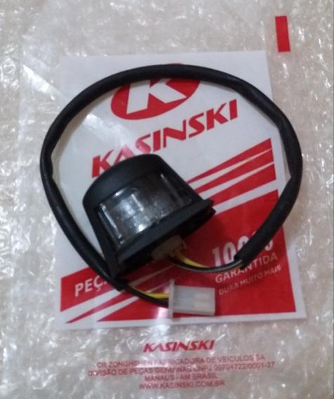 Iluminação De Placa Kasinski Comet 250/650 Original Novo!!!