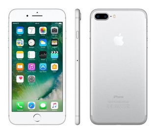 iPhone 7 Plus Apple 128gb Prateado 4g Tela 5.5-retina Câm