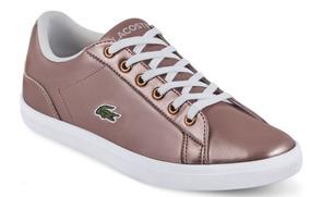 Tenis Lacoste P/dama Ck 623-00 Uy4