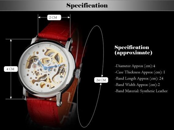 Relógio Shenhua,automático E A Corda, Feminino Mecânico