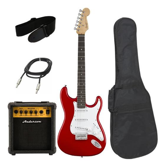 Combo Guitarra Eléctrica Squier By Fender + Amplificador 10w