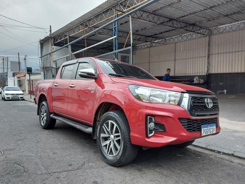 Imagem 1 de 15 de Toyota Hilux 2019 2.7 Sr Cab. Dupla 4x2 Flex Aut. 4p