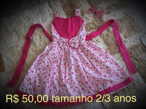 Vestidos Meninas 3/4 Anos