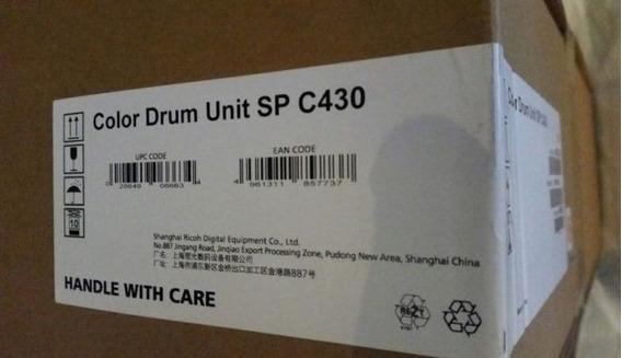 01 Unidade Cod 406663 Color Drum Ricoh Laser Toner Spc430