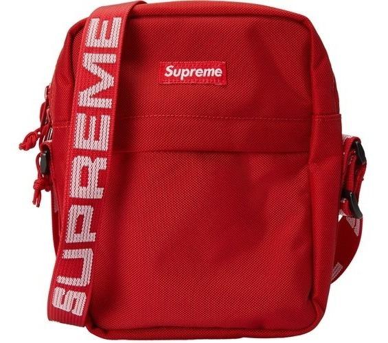 Shoulder Supreme Mariconera Waist Bag Mochila Roja Cangurera