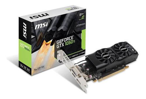 Imagen 1 de 1 de Placa De Video Geforce Gtx 1050 Ti 4gt Lp Msi