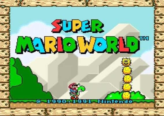 Super Mario World Para Pc Envio Imediato +10 Jogos Brinde