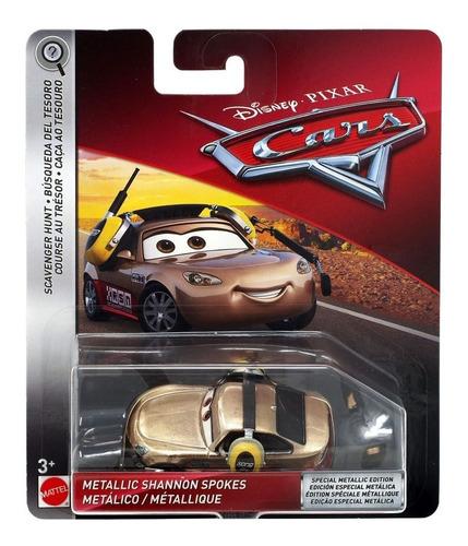 Auto Cars Shannon Spokes Mattel Original Disney Metalico