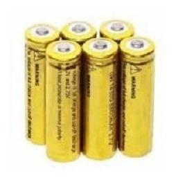 6 Bateria Recarregavel 14500 3.7v/4,2v/4200mah Mini Lanterna