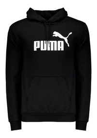 Moletom Puma Essentials Fleece Preto