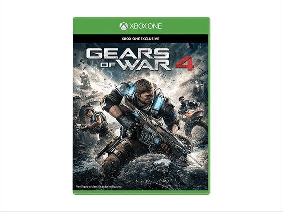 Game Xbox One Gears Of War 4 Mídia Física/ Novo/ Lacrado