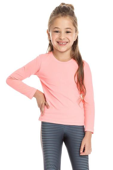 Camiseta Running Kids - Rosa - Live!