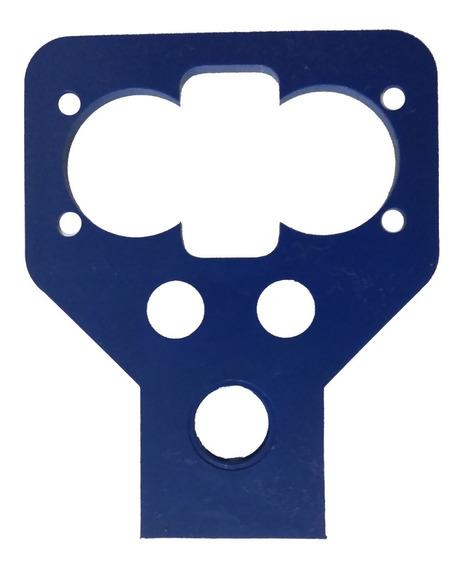 Suporte Sensor Ultrassônico Azul Hc Sr04 Azul