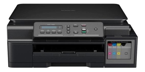 Impressora Multifuncional Brother Dcp-t300 - Tanque De Tinta