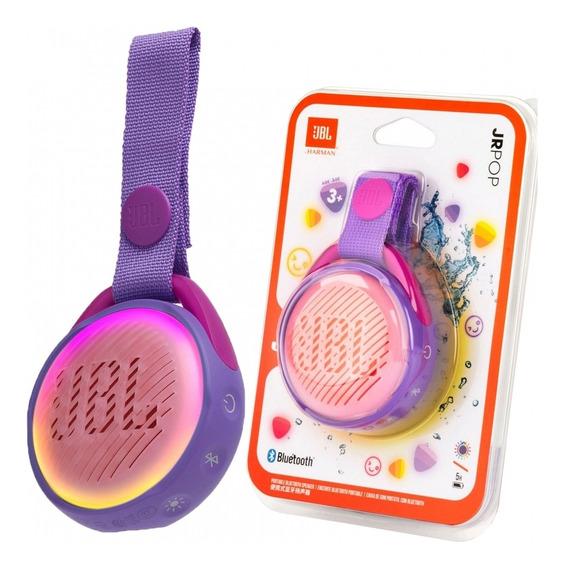 Caixa De Som Infantil Jbl Original Jr Pop Roxa +prova D