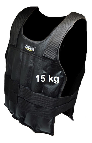 Colete De Carga Crossfit Funcional Ajustavel 15kg