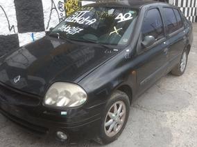 Sucata Renault Clio 2003 1.0 16v Gasolina Cod (61) M
