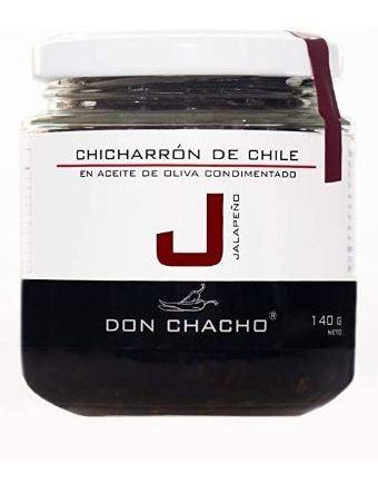 Chicharrón De Chile Jalapeño Don Chacho 140 Gr.