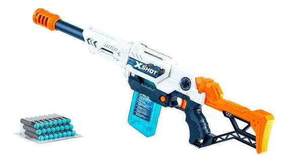 Pistola X-shot Lanza Dardo Rifle Cargador Juguete Max Attack