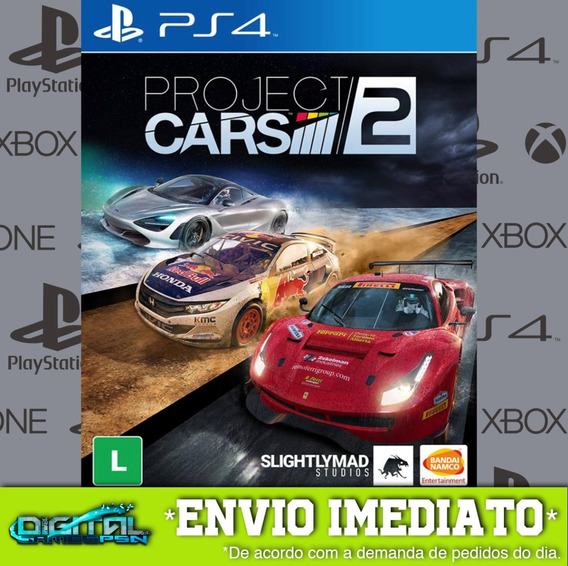 Project Cars 2 Ps4 Psn Jogo Digital Original 2