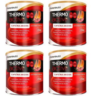 Thermo Active Frutas Cítricas - 4x 250 Gramas - Maxinutri