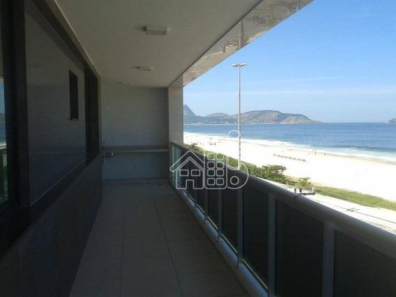 Vista Deslumbrante Para A Praia De Piratininga - Ap2700