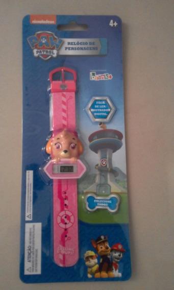 Relógio Digital Infantil - Patrulha Canina - Skye