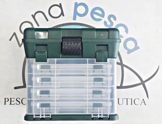 Caja Organizadora Multiuso Vertical X 4 Cajas 23 X 11.5 Cm