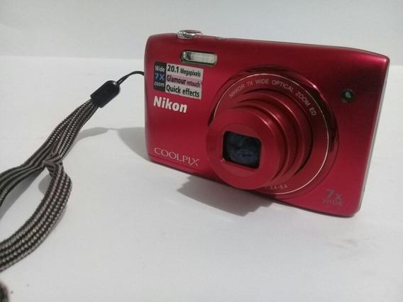 Câmera Nikon Coolpix S3400